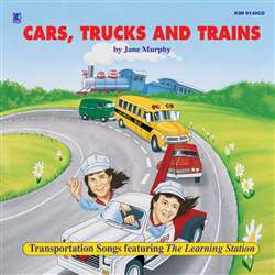 Cars Trucks & Trains Cd By Kimbo Educational