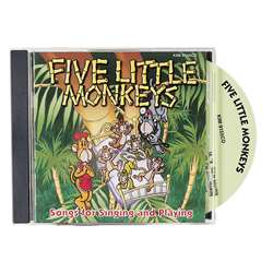 Five Little Monkeys Cd By Kimbo Educational