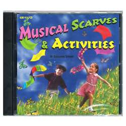 Musical Scarves & Activities Cd Ages 3-8 By Kimbo Educational