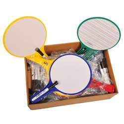 Kwik Chek Ii Classroom Kit 12/Set Paddles By Kleenslate Concepts