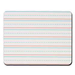 Rectangular Manuscript Lined 6Pk Replacement Dry Erase Sheets By Kleenslate Concepts