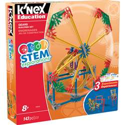 Knex Stem Gears Building Set, KNX79318