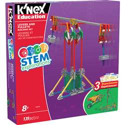 Knex Stem Lever/Pulley Building Set, KNX79319
