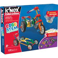 Knex Stem Vehicles Building Set, KNX79320