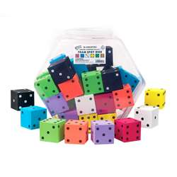 "2"" Foam Dot Dice 36/Tub, KOP10946"