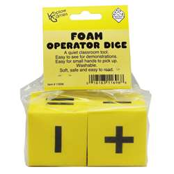 Foam Dice 2 Operator Set Of 2 By Koplow Games