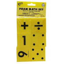 Foam Dice 2 Set Of 6 By Koplow Games