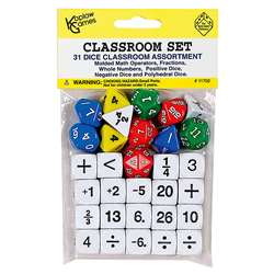 Classroom Dice Set By Koplow Games