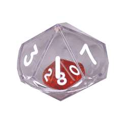10 Sided Double Dice Single, KOP11770