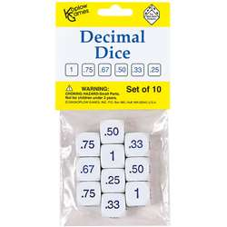 Decimal Dice By Koplow Games