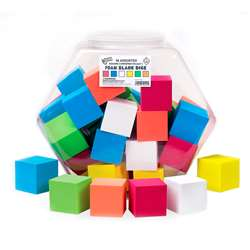 "2"" Foam Blank Dice 36/Tub, KOP12421"