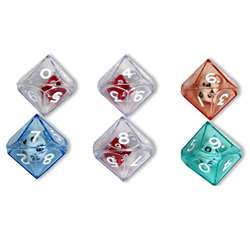 10 Sided Double Dice Set Of 6 By Koplow Games