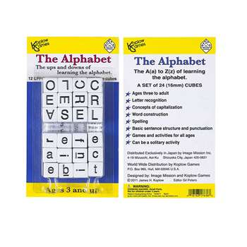 Alphabet Dice Game By Koplow Games