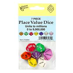 Place Value Dice Set 7 Pcs, KOP18484