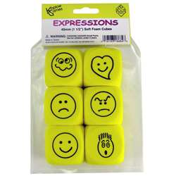 Foam Expressions Dice Set Of 6, KOP18684