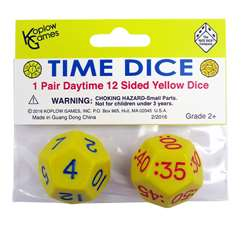 Time Dice Pair Of Yellow Am, KOP18847