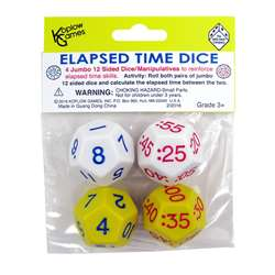 Elapsed Time Dice 2 Pair, KOP18848