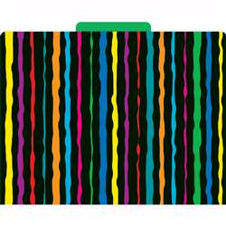 File Folders Neon Stripes By Barker Creek Lasting Lessons