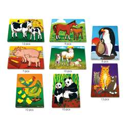 Mothers And Baby Animals Puzzle Set By Melissa & Doug