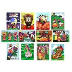 Fairy Tales And Nursery Rhymes Puzzles By Melissa & Doug