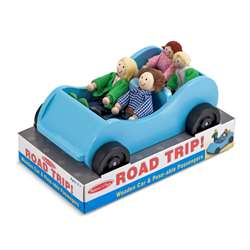 Road Trip Wooden Car And Poseable, LCI2463