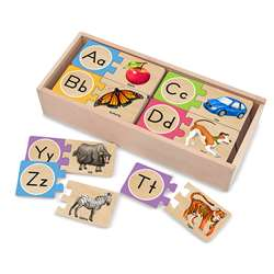 Self Correcting Letter Puzzles By Melissa & Doug