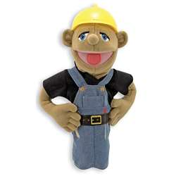 Construction Worker Puppet By Melissa & Doug