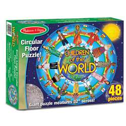 Children Of The World Floor Puzzle By Melissa & Doug