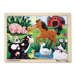 On The Farm Jigsaw By Melissa & Doug