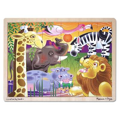 African Plains Puzzle By Melissa & Doug