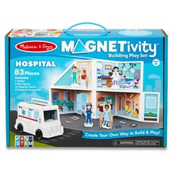 Building Play Set Hospital Magnetivity Magnetic, LCI30655