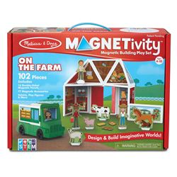 Building Play Set On The Farm Magnetivity Magnetic, LCI30656