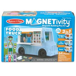 Building Play Set Food Truck Magnetivity Magnetic, LCI30665