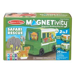 Building Play Set Safari Rescue Magnetivity Magnet, LCI30666