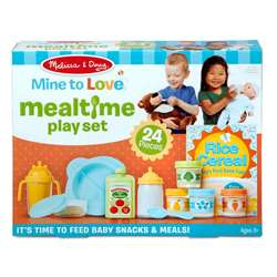 Mine To Love Mealtime Play Set, LCI31708