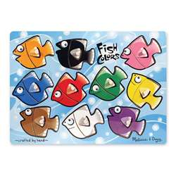 Fish Colors Mix N Match Peg Puzzle By Melissa & Doug