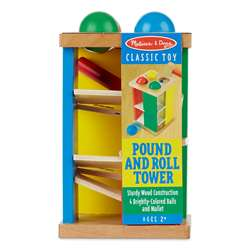 Pound And Roll Tower By Melissa & Doug