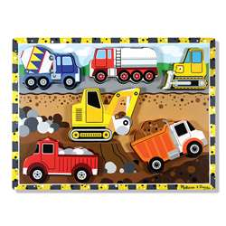 Construction Chunky Puzzle By Melissa & Doug