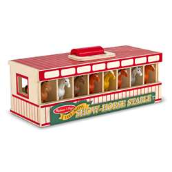 Show Horse Stable By Melissa & Doug