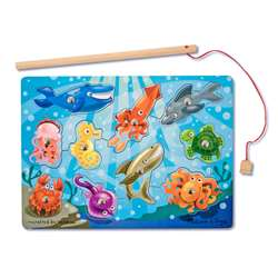 Fishing Magnetic Puzzle Game By Melissa & Doug