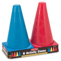 8 Activity Cones By Melissa & Doug