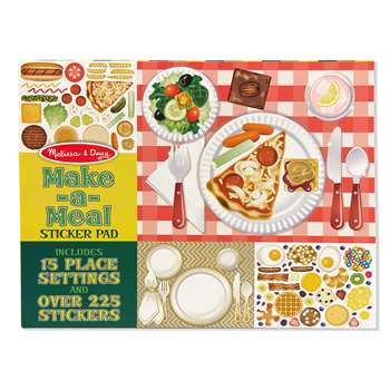 Make A Meal Sticker Pad By Melissa & Doug