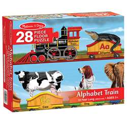 Floor Puzzle Alphabet Train By Melissa & Doug