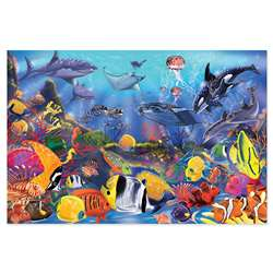 Floor Puzzle Underwater By Melissa & Doug