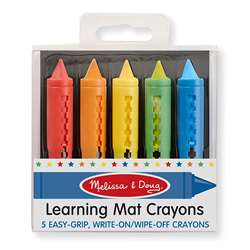 Learning Mat Crayons By Melissa & Doug