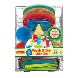 Lets Play House Wash & Dry Dish Set, LCI4282
