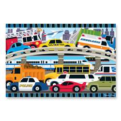 Traffic Jam Floor Puzzle By Melissa & Doug