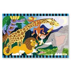 Safari Social Floor Puzzle By Melissa & Doug