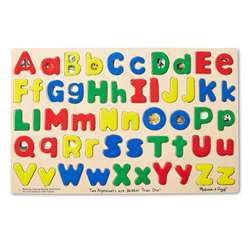 Puzzle Upper & Lowercase Alphabet By Melissa & Doug