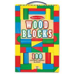 Painted Unit Block Sets 100-Pc Set Set By Melissa & Doug
